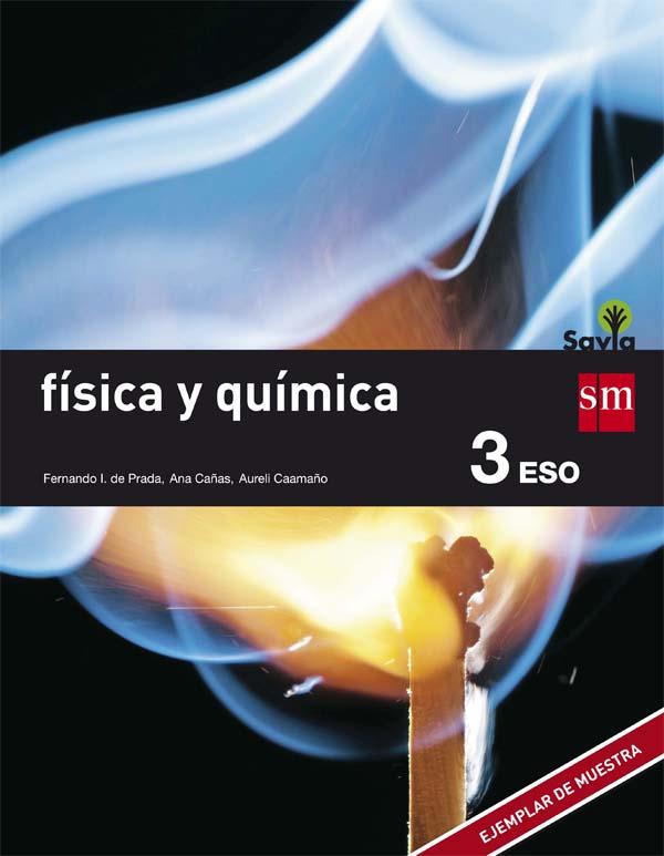 Física y Química 3 ESO SM SAVIA Soluciones 2020 / 2021