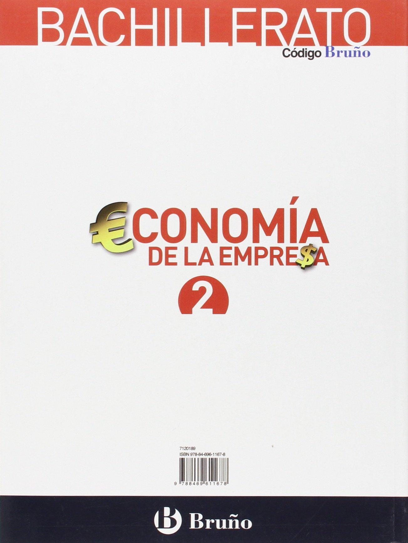Economía de la Empresa 2 Bachillerato Bruño Soluciones 2020 / 2021