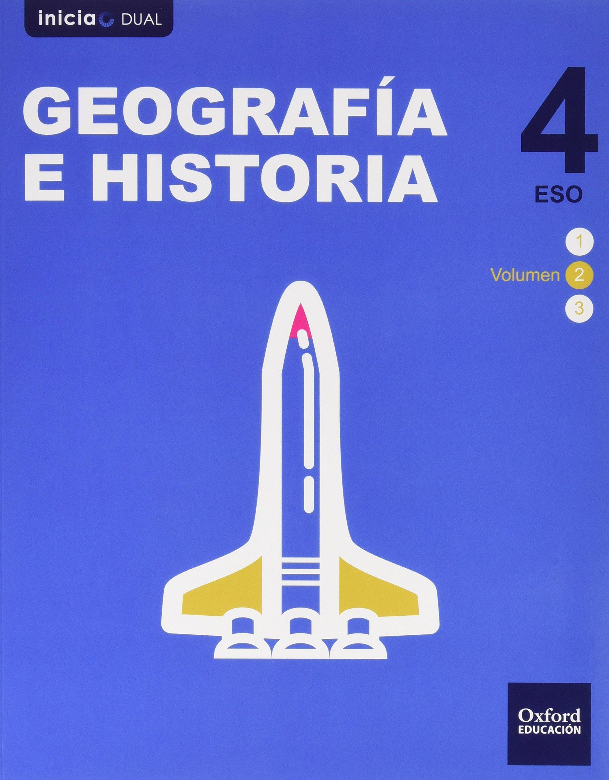 Geografía e Historia 4 ESO Oxford Soluciones 2020 / 2021