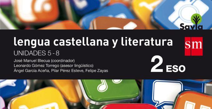 Lengua y Literatura 2 ESO SM SAVIA Soluciones 2020 / 2021