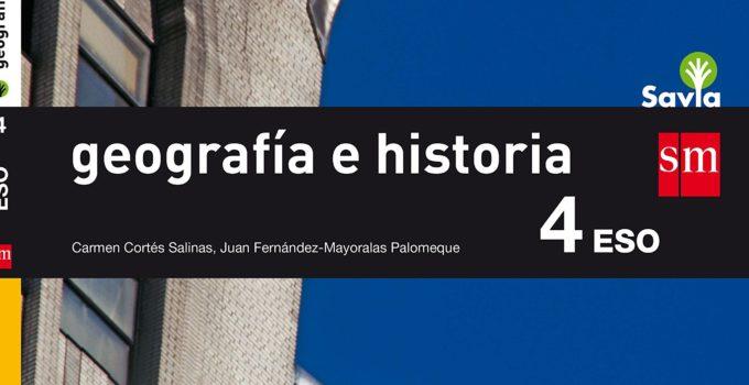 Geografía e Historia 4 ESO SM SAVIA Soluciones 2020 / 2021