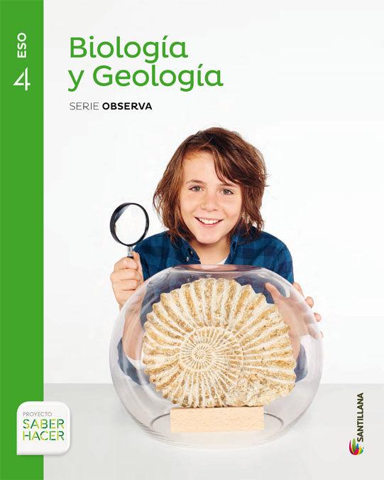 Biología y Geología 4 ESO Santillana Soluciones 2020 / 2021