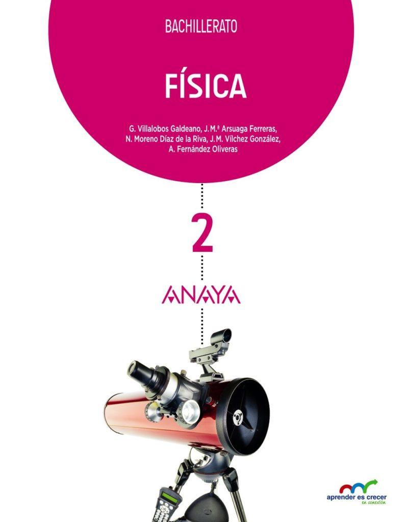 Física 2 Bachillerato Anaya Soluciones 2020 / 2021