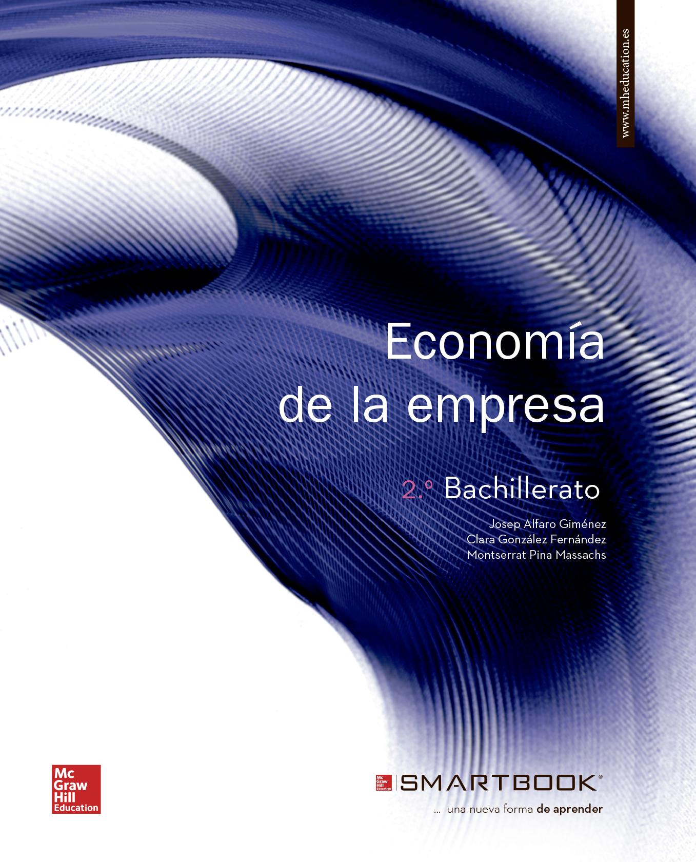 Economía de la Empresa 2 Bachillerato Mcgraw-Hill Soluciones 2020 / 2021