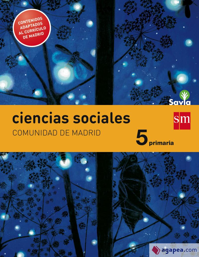 Ciencias Sociales 5 Primaria SM SAVIA Soluciones 2020 / 2021