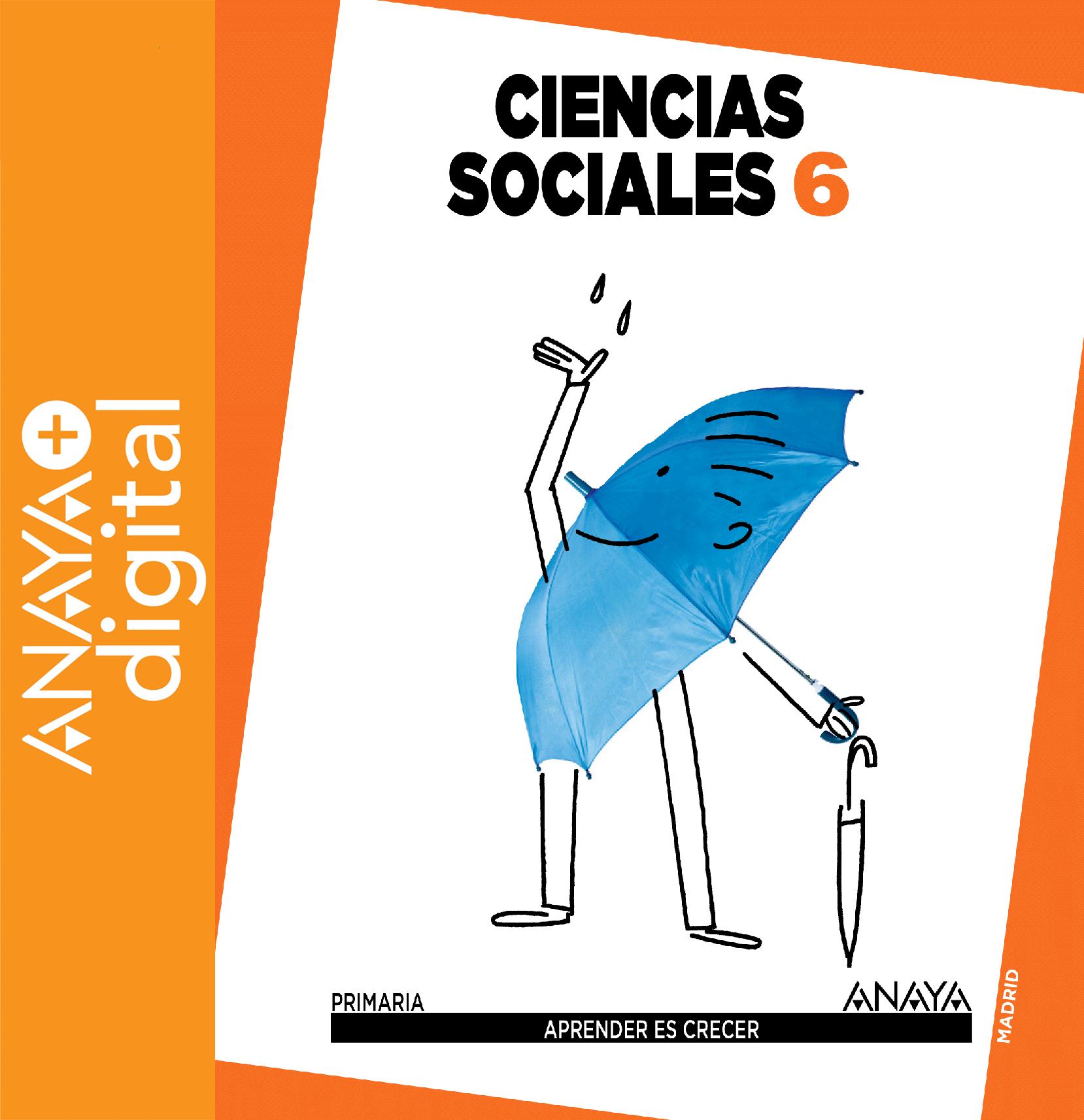 Ciencias Sociales 6 Primaria Anaya Soluciones 2020 / 2021