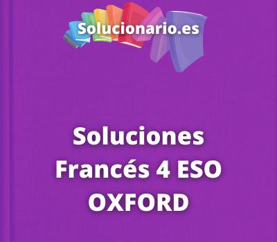 Soluciones Francés 4 ESO OXFORD