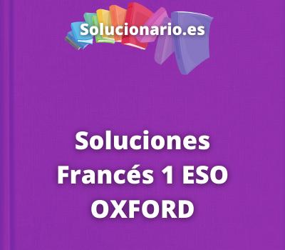 Soluciones Francés 1 ESO OXFORD