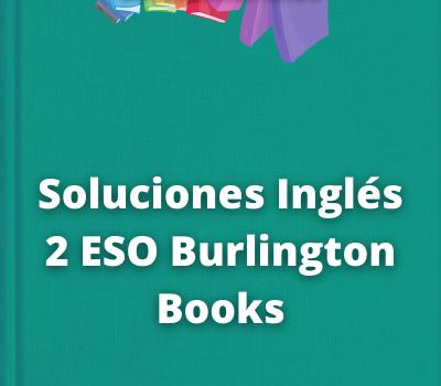 Soluciones Inglés 2 ESO Burlington Books