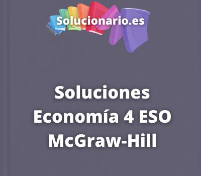 Soluciones Economía 4 ESO McGraw-Hill