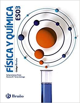 Física y Química 3 ESO Bruño Soluciones 2020 / 2021