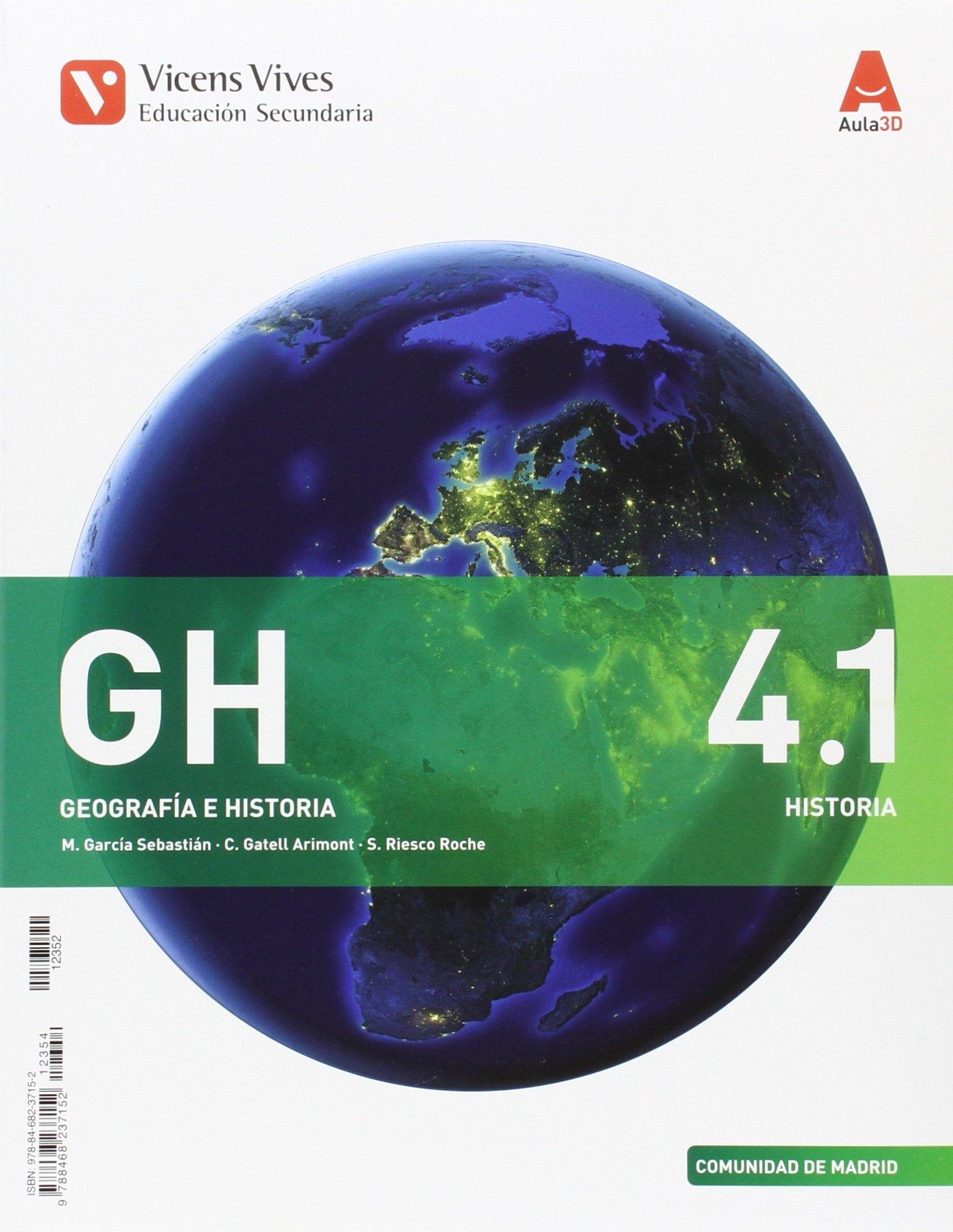 Geografía e Historia 4 ESO Vicens Vives Soluciones 2020 / 2021