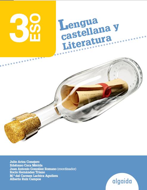 Lengua y Literatura 3 ESO Algaida Soluciones 2020 / 2021
