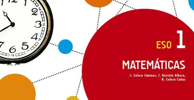 Matemáticas 1 ESO Anaya Soluciones 2020 / 2021