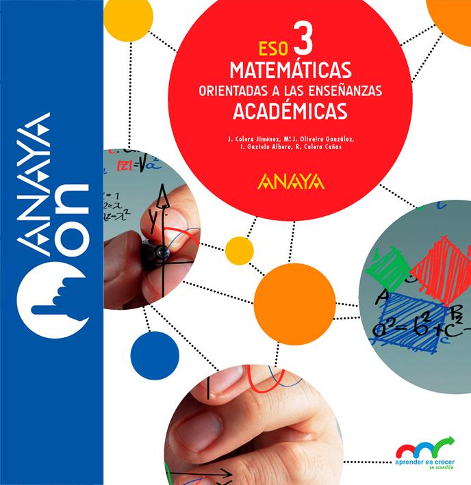 Matemáticas 3 ESO Anaya Soluciones 2020 / 2021