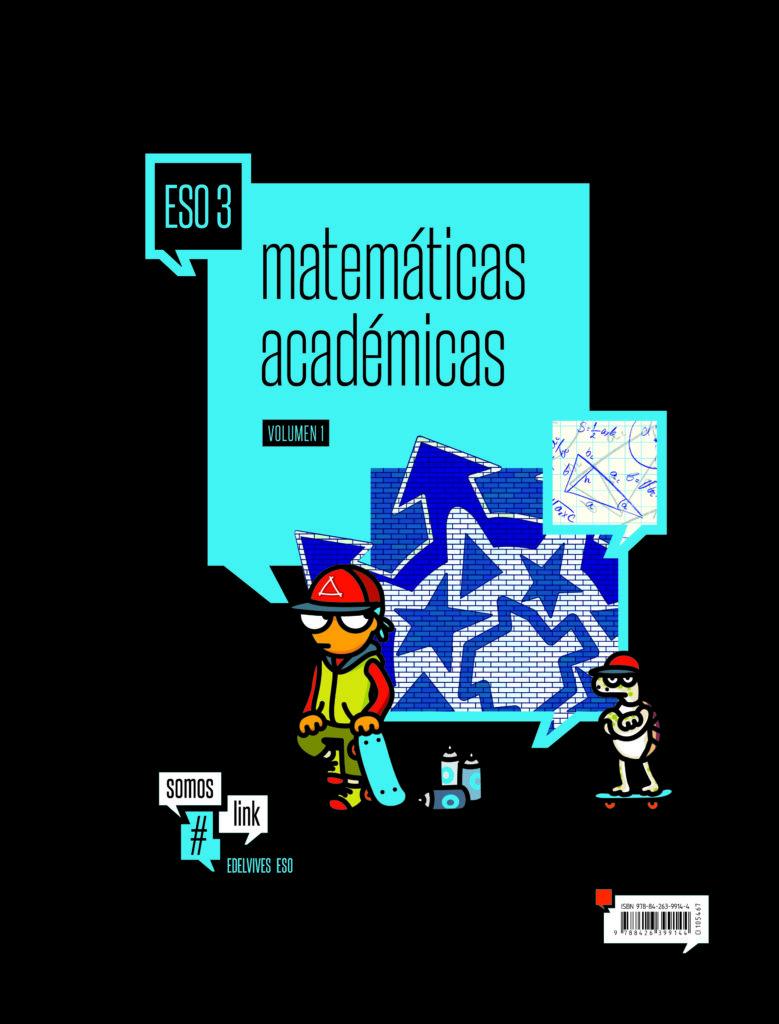 Matemáticas 3 ESO Edelvives Somoslink Soluciones 2020 / 2021
