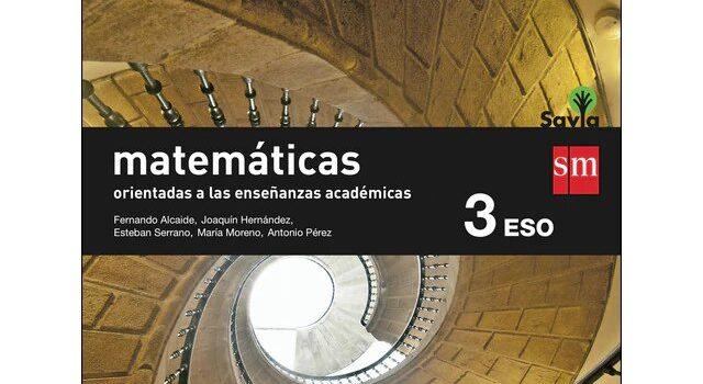 Matemáticas 3 ESO SM SAVIA Soluciones 2020 / 2021