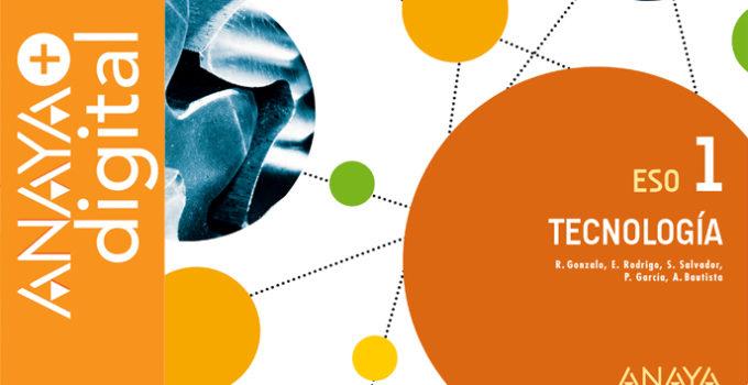 Tecnología 1 ESO Anaya Soluciones 2020 / 2021