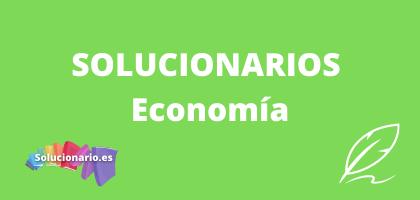 Solucionarios de 1 Bachillerato Economía