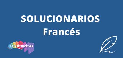 Solucionarios de 1 de la ESO Francés