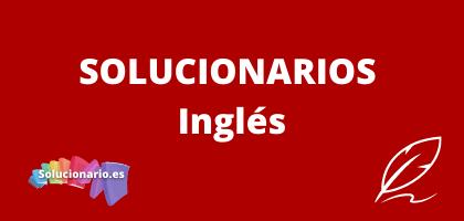 Solucionarios de 1 de la ESO Inglés