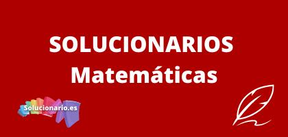 Solucionarios de 3 de la ESO Matemáticas