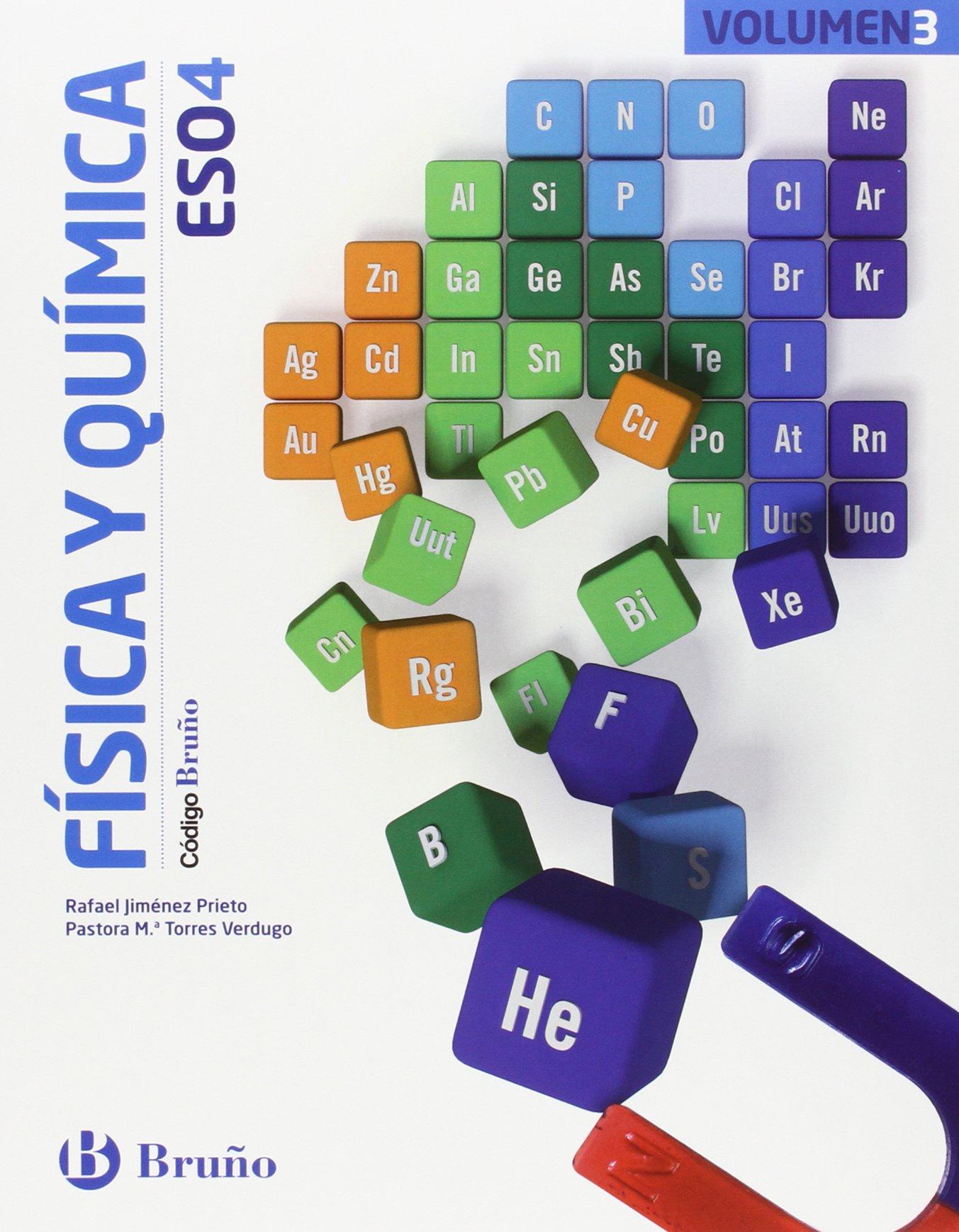 Física y Química 4 ESO Bruño Soluciones 2020 / 2021