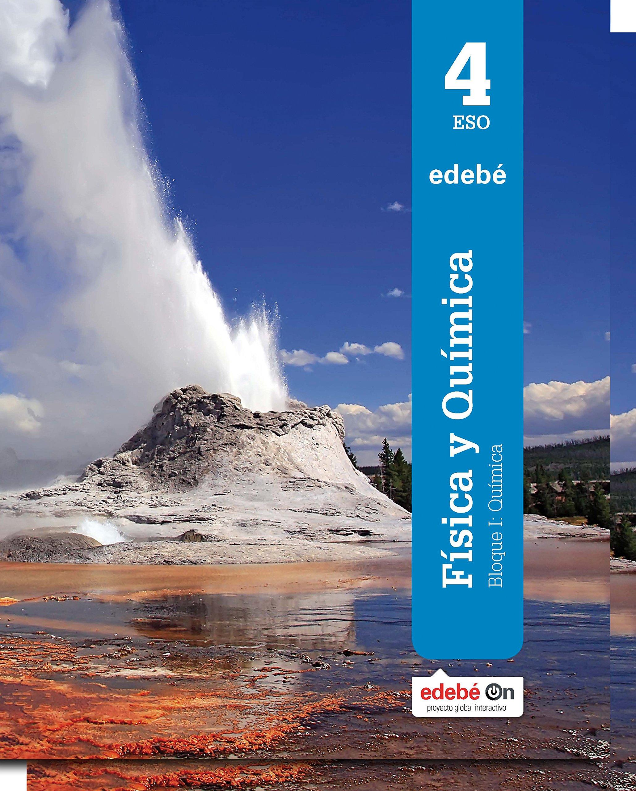Física y Química 4 ESO Edebé Soluciones 2020 / 2021