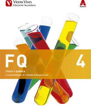 Física y Química 4 ESO Vicens Vives Soluciones 2020 / 2021