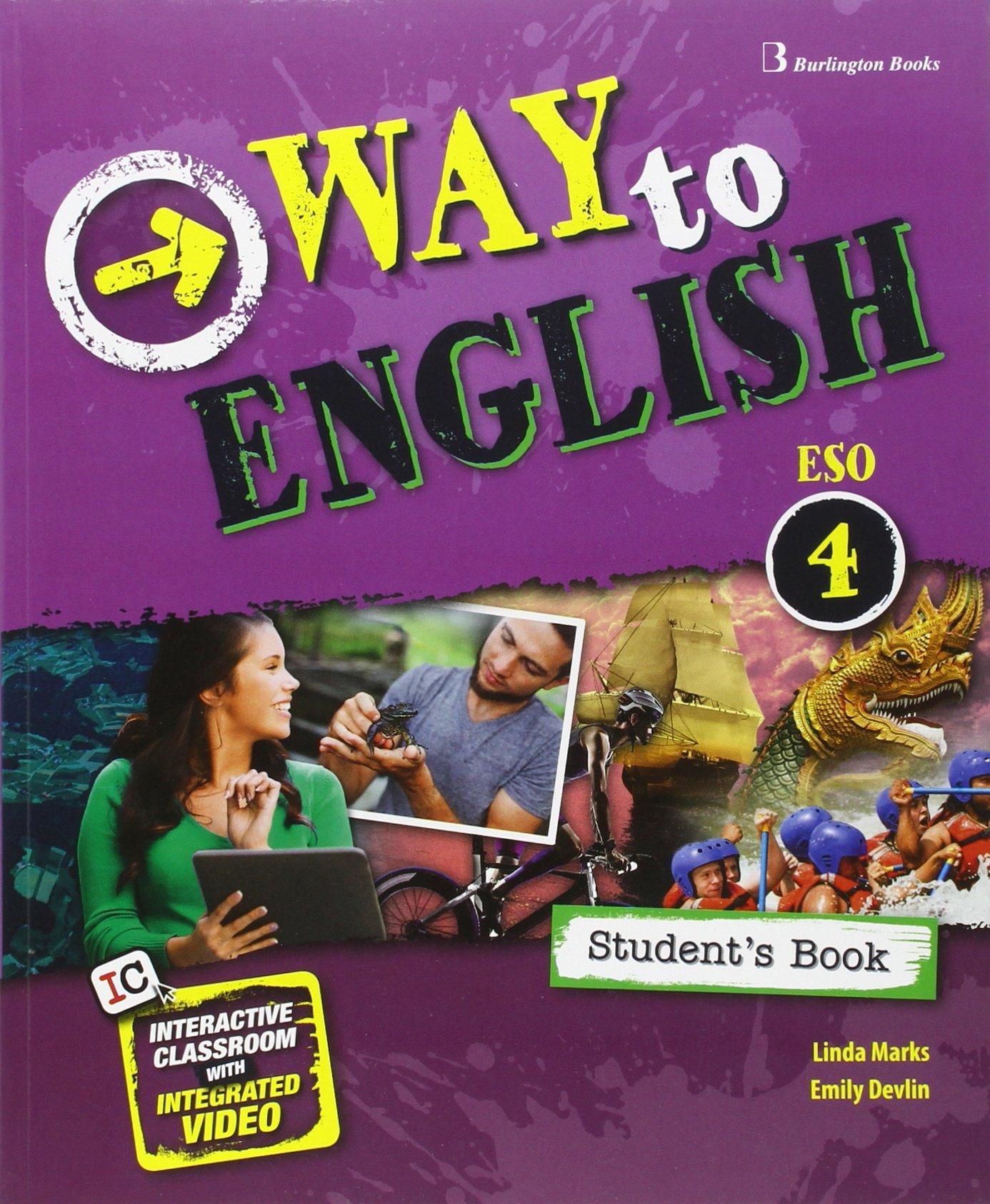 Inglés 4 ESO Burlington Books Soluciones 2020 / 2021