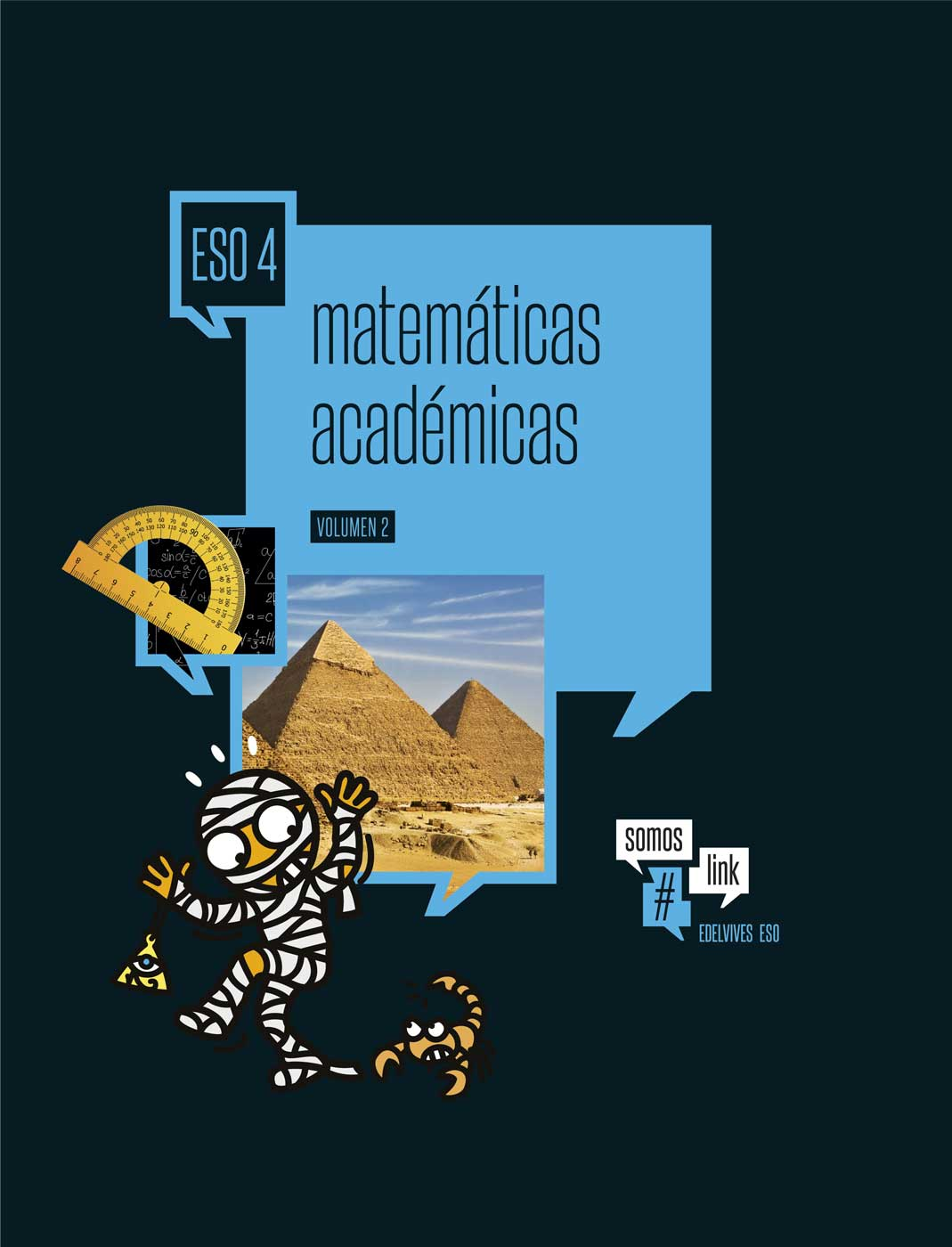 Matemáticas 4 ESO Edelvives Somoslink Soluciones 2020 / 2021