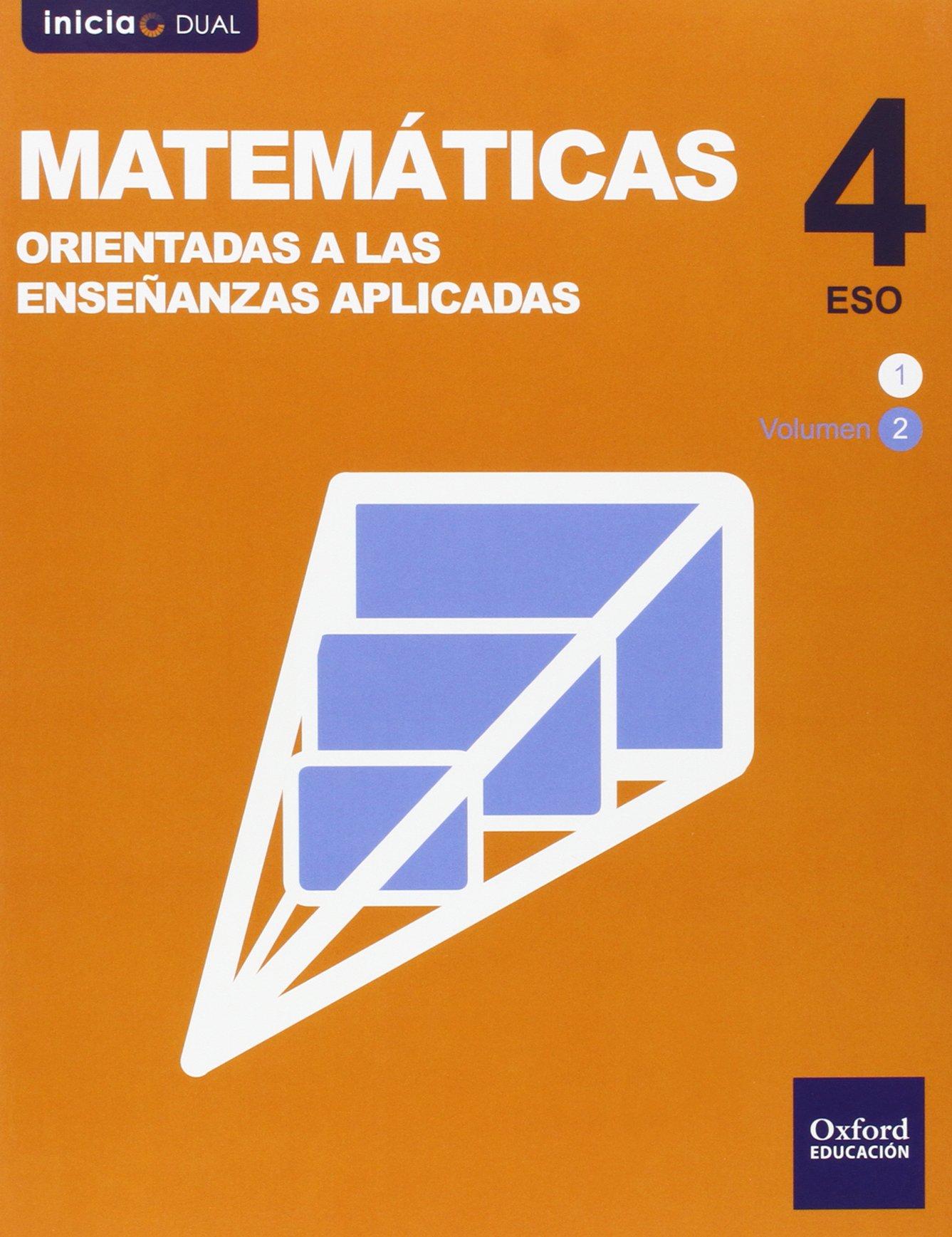 Matemáticas 4 ESO Oxford Soluciones 2020 / 2021