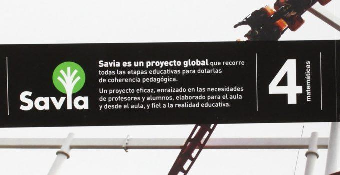 Matemáticas 4 ESO SM SAVIA Soluciones 2020 / 2021