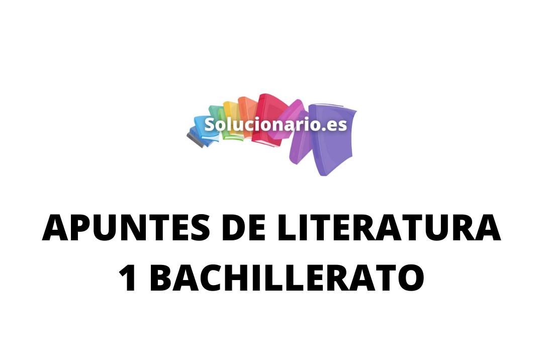 Apuntes Literatura la Celestina 1 Bachillerato 2020 / 2021