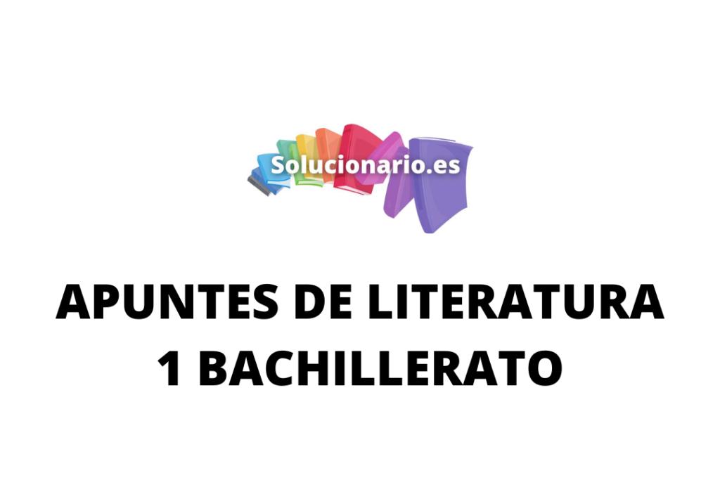 Apuntes Literatura la poesía renacentista 1 Bachillerato 2020 / 2021