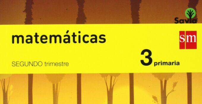 Matemáticas 3 Primaria SM SAVIA Soluciones 2020 / 2021