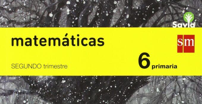 Matemáticas 6 Primaria SM SAVIA Soluciones 2020 / 2021