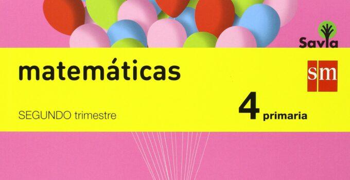 Matemáticas 4 Primaria SM SAVIA Soluciones 2020 / 2021