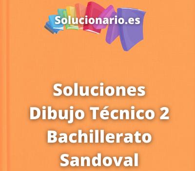 Soluciones Dibujo Técnico 2 Bachillerato Sandoval