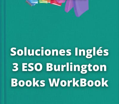 Soluciones Inglés 3 ESO Burlington Books WorkBook