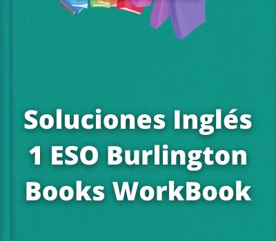 Soluciones Inglés 1 ESO Burlington Books WorkBook