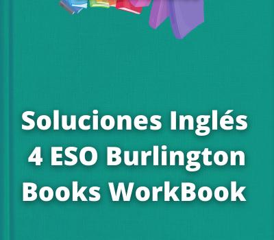 Soluciones Inglés 4 ESO Burlington Books WorkBook