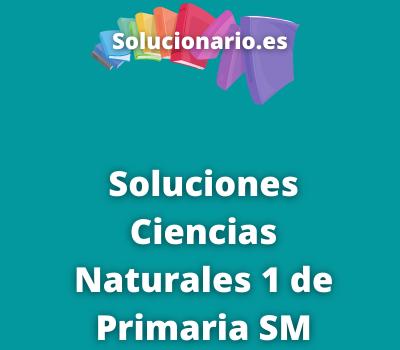 Ciencias Naturales 1 Primaria SM Savia