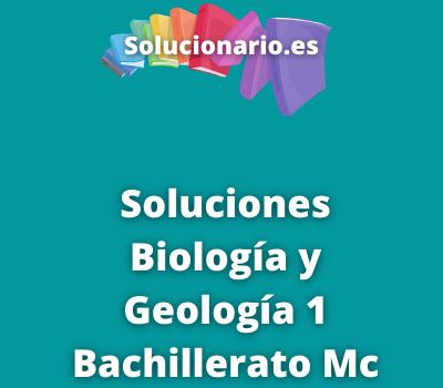Biología y Geología 1 Bachillerato Mc Graw Hill