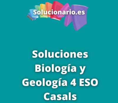 Biología y Geología 4 ESO Casals