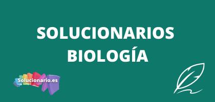 Solucionarios de 2 Biología