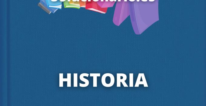 Solucionario Historia