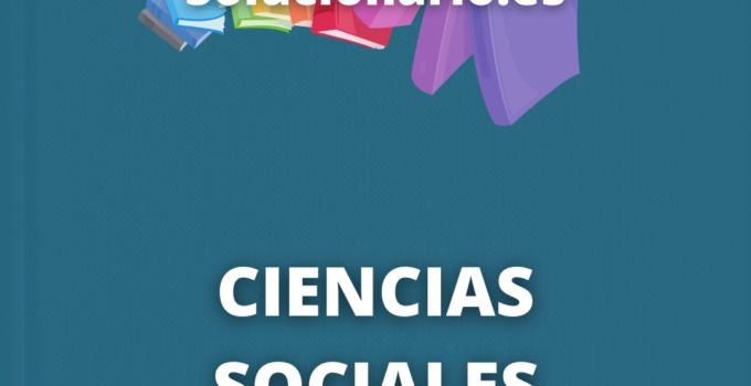 Solucionario Ciencias Sociales